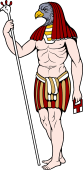 Gods and Goddesses Clipart image: Osiris
