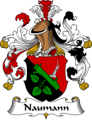 German Wappen Coat of Arms for Naumann