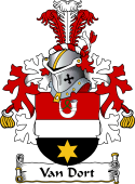 Dutch Coat of Arms for Van Dort