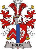 Danish Coat of Arms for Holck