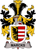 Swedish Coat of Arms for Marcks