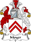 English Coat of Arms for Moyer