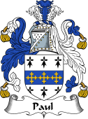 English Coat of Arms for Paul