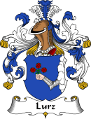German Wappen Coat of Arms for Lurz