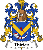Coat of Arms from France for Thirion