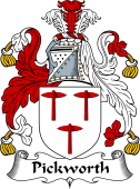English Coat of Arms for Pickworth