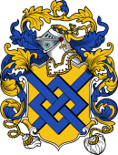 English or Welsh Coat of Arms for Willoughby (Lincolnshire, Derbyshire, Devonshire, and Kent)
