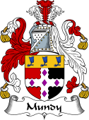 English Coat of Arms for Mundy