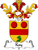 Coat of Arms from Scotland for Kay
