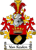Dutch Coat of Arms for Van Keulen