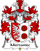 Polish Coat of Arms for Mierzaniec or Mieszaniec