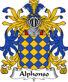 Italian Coat of Arms for Alphonso