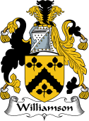 English Coat of Arms for Williamson