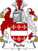 English Coat of Arms for Peche