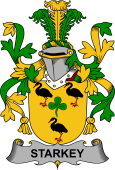 Irish Coat of Arms for Starkey