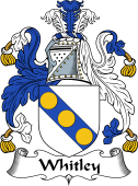 English Coat of Arms for Whitley