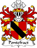 Welsh Coat of Arms for Pontefract (of Denbighshire)