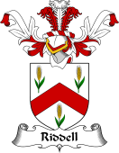Coat of Arms from Scotland for Riddell