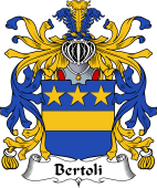 Italian Coat of Arms for Bertoli