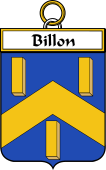 French Coat of Arms Badge for Billon