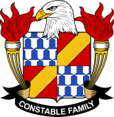 American Coat of Arms for Constable