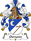 German Wappen Coat of Arms for Osmann