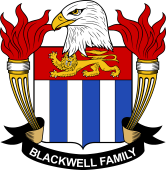 American Coat of Arms for Blackwell