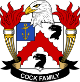 American Coat of Arms for Cock