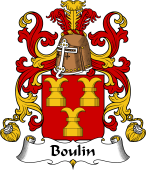 Coat of Arms from France for Boulin