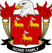 American Coat of Arms for Rowe
