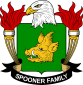 American Coat of Arms for Spooner