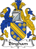 English Coat of Arms for Bingham