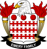 American Coat of Arms for Emery