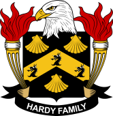 American Coat of Arms for Hardy