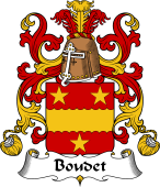 Coat of Arms from France for Boudet