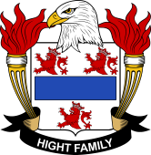 American Coat of Arms for Hight