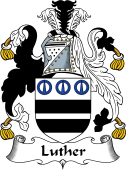 English Coat of Arms for Luther