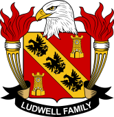 American Coat of Arms for Ludwell