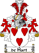 Dutch Coat of Arms for de Hart