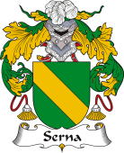 Spanish Coat of Arms for Serna