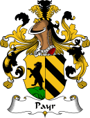 German Wappen Coat of Arms for Payr