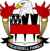 American Coat of Arms for Truesdell