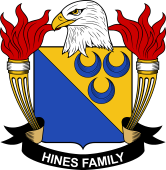 American Coat of Arms for Hines