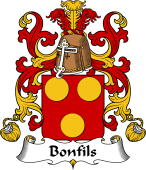 Coat of Arms from France for Bonfils