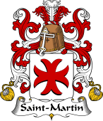 Coat of Arms from France for Saint-Martin