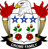 American Coat of Arms for Crome