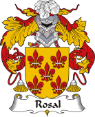 Spanish Coat of Arms for Rosal