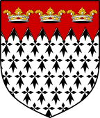 English Family Shield for Leach or Leech