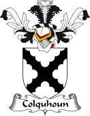 Coat of Arms from Scotland for Colquhoun