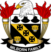 American Coat of Arms for Milborn